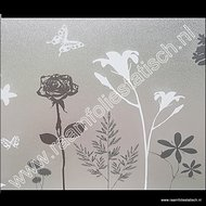 D-c-fix static premium raamfolie bloemen en vlinders 45cm (blossom)