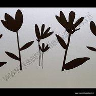 raamdecoratie bloemen