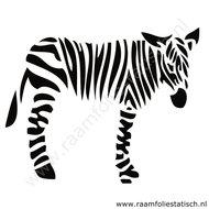Zebra-sticker