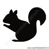 Eekhoorn-sticker