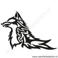 Tribal-wolf-sticker