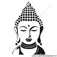 Boedha-hoofd-sticker