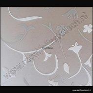 statische raamfolie bloemmotieven deluxe astrid 67,5cmx1,5m