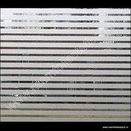 statische raamfolie horizontale strepen 67,5cm x 1,5m