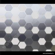 Statische raamfolie zeshoek wido 90cm d-c-fix premium